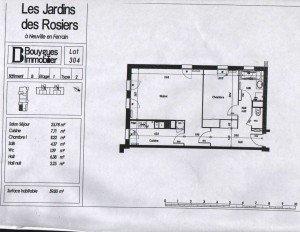 Plan de l'appartement plan-appartement-2-300x232